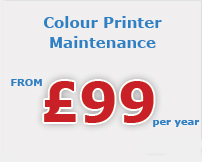 colour printer maintenance Berkshire