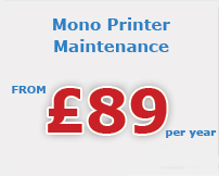 mono printer maintenance Berkshire